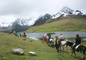 Ausangate horse riding tour 2Days