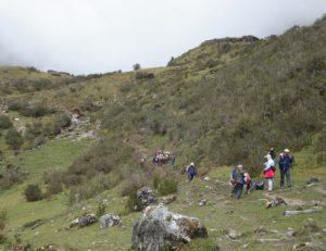 Salkantay to machupicchu trek 5Days